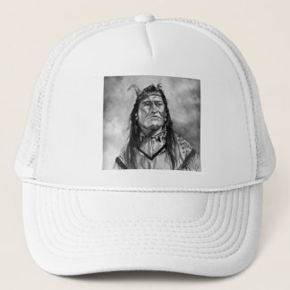 New Chest ,Piegan Indian Trucker Hat