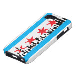 New Chicago Flag iPhone 5 Case