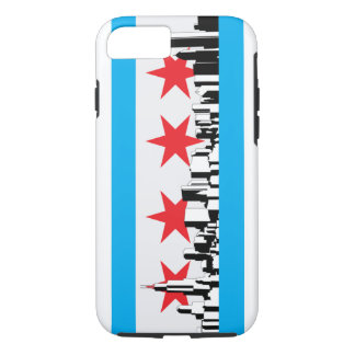New Chicago Flag iPhone 7 Case