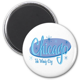NEW-Chicago-Retro Magnet
