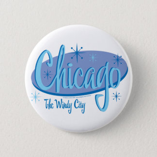 NEW-Chicago-Retro Pinback Button