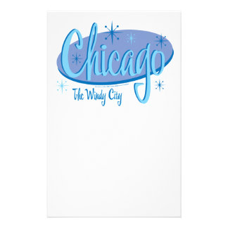 NEW-Chicago-Retro Stationery