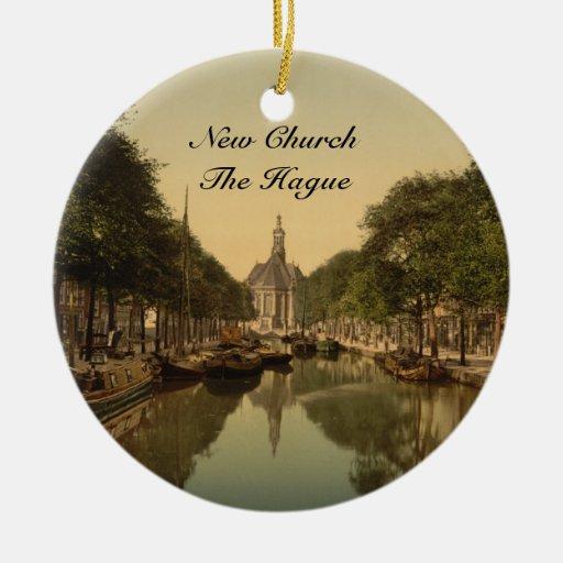New Church, The Hague, Netherlands Christmas Tree Ornament