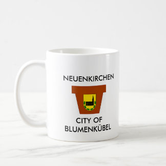 New churches - town center OF flowerpot - cup Classic White Coffee Mug