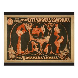 New City Sports Company, 'el Lowell de Brother Tarjetas Postales