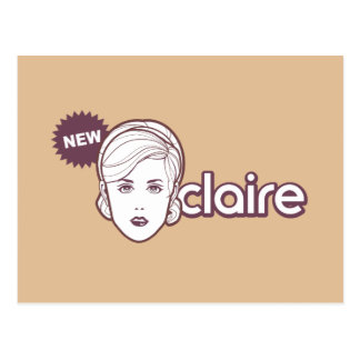 New Claire postcard