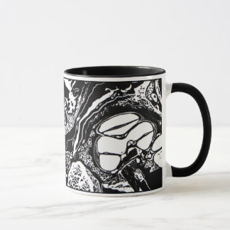 "NEW!  ""Cochlea Cross"" Block Print Mug! Mug"