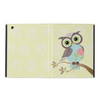 New Cocking Head Fancy Owl Powis iPad Case
