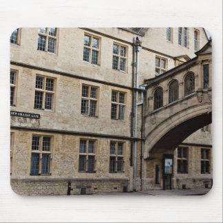 New College Lane and Hertford Bridge, Oxford Mouse Pad