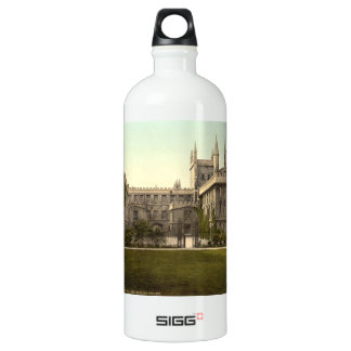 New College, Oxford, England Aluminum Water Bottle