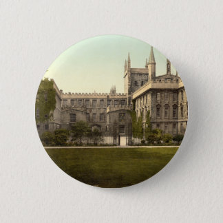 New College, Oxford, England Button