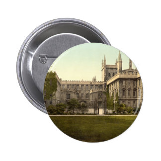 New College Oxford England Pinback Button