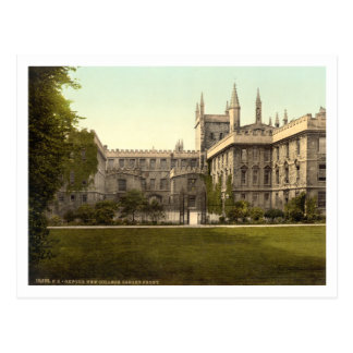 New College, Oxford, England Postcards