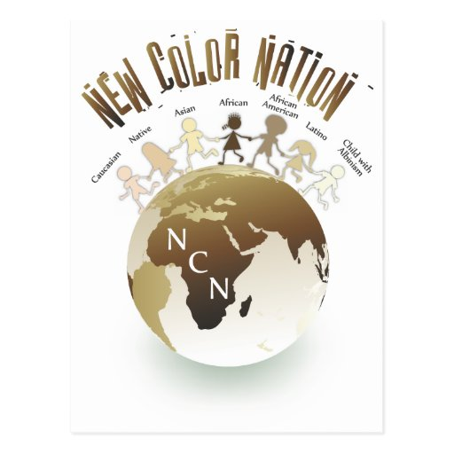 New Color Nation T-shirts and products Postcard