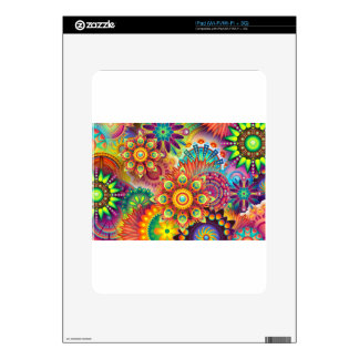 New Colorful Abstract BackGround iPad Skin