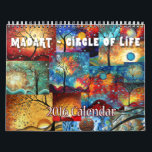 """NEW Colorful MADART 2016 Circle of Life Calendar<br><div class=""""desc"""">The 2016 MADART Circle of Life Calendar is here! Each month will bring you colorful and bold designs to brighten each day throughout the year. Created by Megan Duncanson&#169; of MADART Studios™ MADART Studios™ is a well established, licensing company with &quot;Art that Colors the Soul&quot;; featuring Megan Aroon Duncanson, Aroon...</div>"""