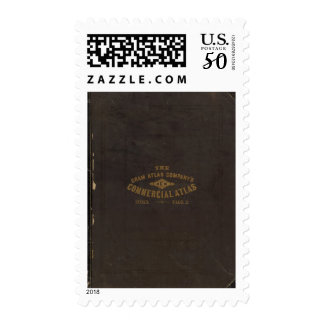 New commercial atlas, United States Postage