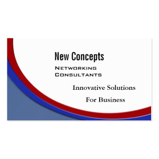 New Concepts, IT Consultants Business Cards