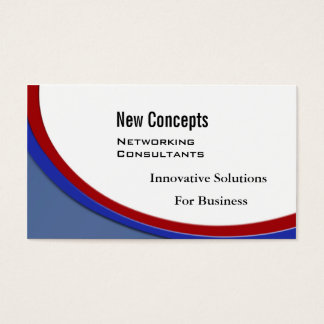 New Concepts, IT Consultants Business Card
