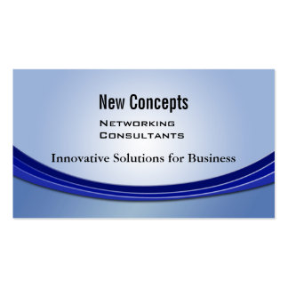 New Concepts, IT Consultants Business Card Templates