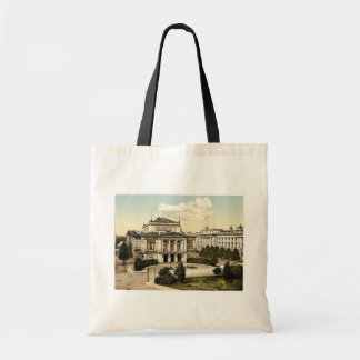 New concert room and library, Leipsig (i.e., Leipz Tote Bag