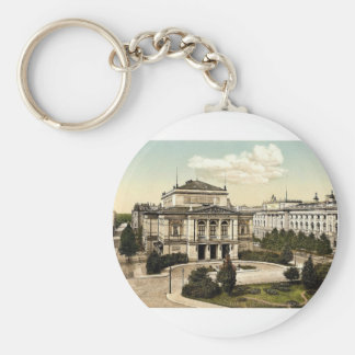 New concert room and library, Leipsig (i.e., Leipz Keychain