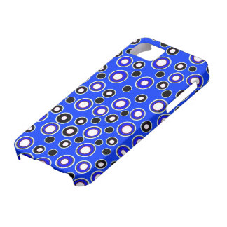 New Cool Blue & White Dot iPhone 5 Case Gift