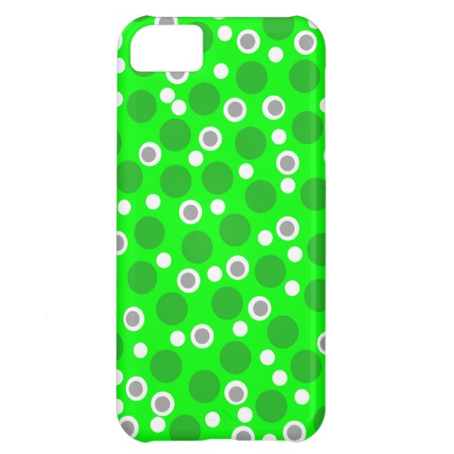 New Cool Green Gray & White iPhone Case Gift iPhone 5C Cover