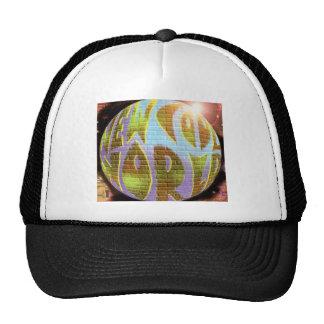 New Cool World LOGO Mesh Hats