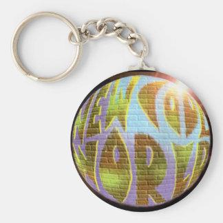 New Cool World LOGO Keychain