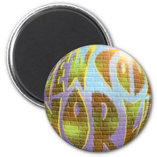 New Cool World LOGO Fridge Magnet