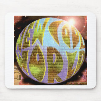 New Cool World LOGO Mouse Pad