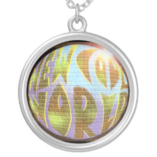 """""""New Cool World"""" LOGO Necklace"""