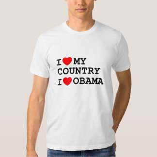 *New* Country, Obama Tee