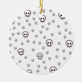 New Craneo love Ceramic Ornament