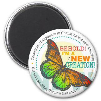 New Creation Butterfly Magnet