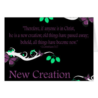 New Creation Greeting Cards