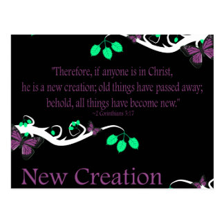 New Creation Post Cards