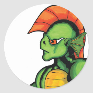 New Creature from the Black Lagoon Classic Round Sticker