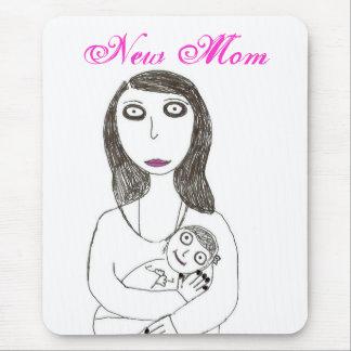 New Creepy Mom Mouse Pad