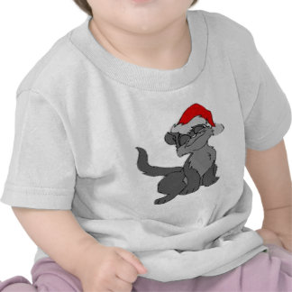 New Cristmas Cat T shirt