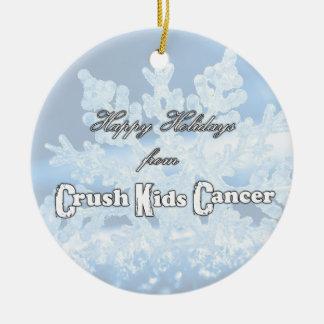 NEW Crush Kids' Cancer 2014 Ornament