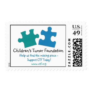 NEW! CTF Postage Stamp (puzzle pieces)