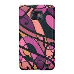NEW! Custom Samsung Galaxy Cases Pink Swirls Samsung Galaxy S2 Cases