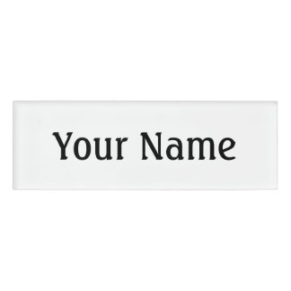 New Customizable Items Name Tag