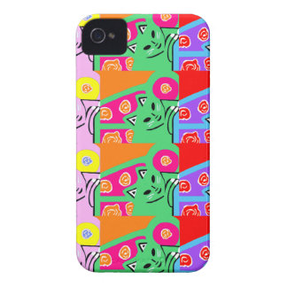 New Cute Colorful Cat iPhone 4 & 4S Case Gift