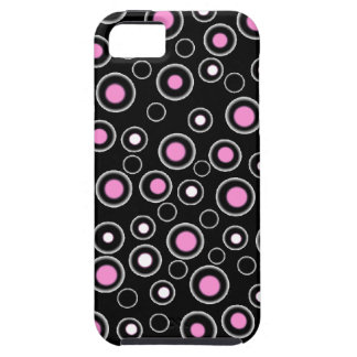 New Cute Pink & Black Designer iPhone 5 Case Gift