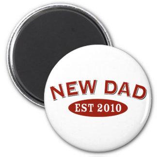 New Dad 2010 2 Inch Round Magnet