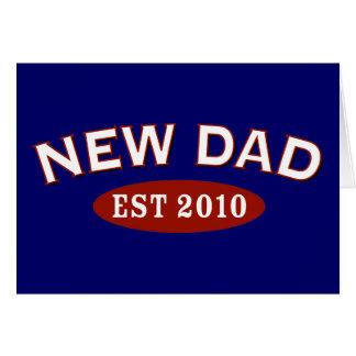 New Dad 2010 Card