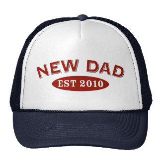 New Dad 2010 Trucker Hat